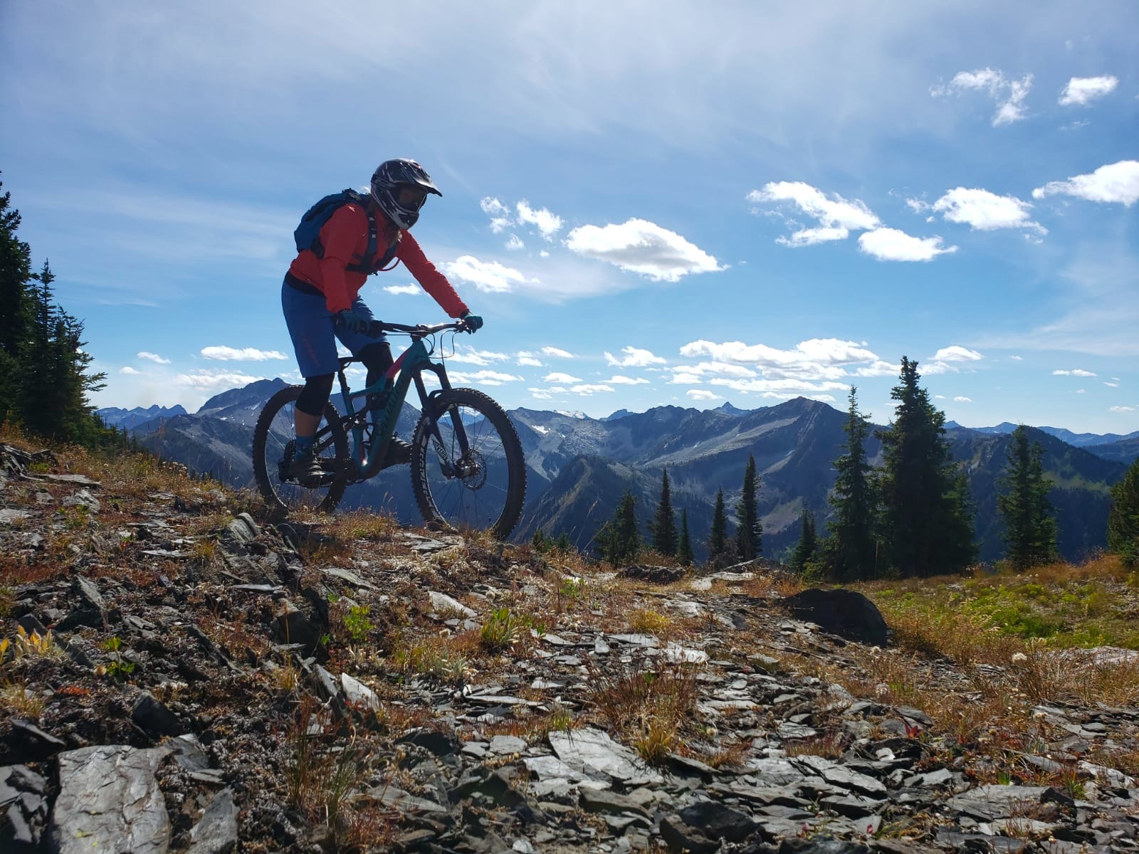 Retallack Backcountry Biking with Sweet Skills